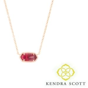 Kendra Scott ■ Elisa Berry Rose Gold Necklace